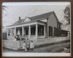 The Cowart house in Arlington, Georgia