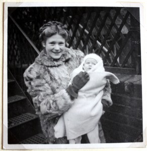 Margaret with baby Veronica