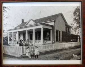 The Cowart home in Arlington, Georgia